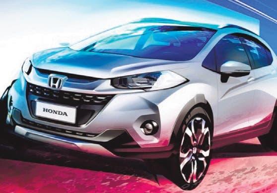 Honda WR-V, un SUV por debajo del CR-V y HR-V