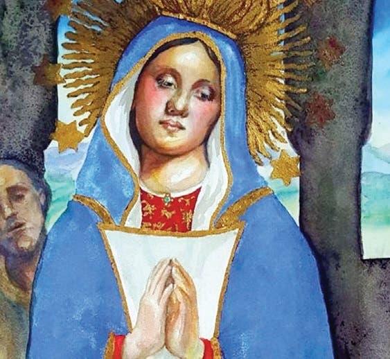 La Virgen de la Altagracia vista por Judith Mora