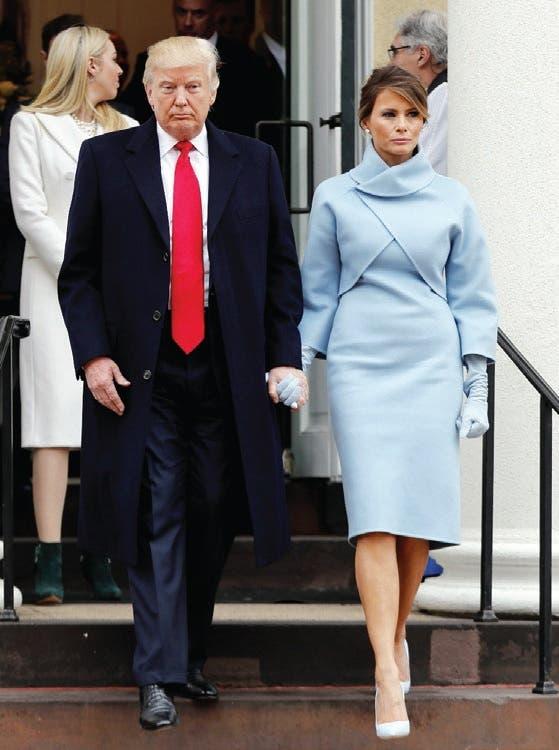 Melania Trump revive a Jackie Kennedy en un Ralph Lauren