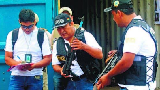 Suman seis los sospechosos detenidos por tráfico de armas en Bolivia; pasó por RD