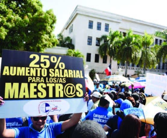 ADP rechaza alza salarial de un 5%, pedirá hoy un 15%
