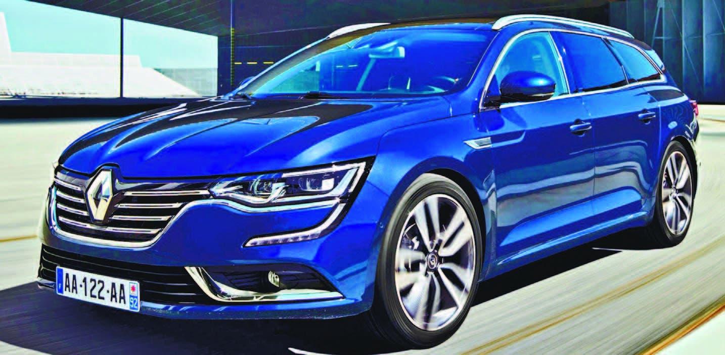 Renault Talismán.. soberbio en todo