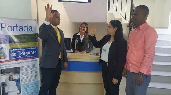 En dicho acto fue juramentado Alfredo de la Cruz como encargado de la nueva oficina/Foto: Fuente externa.