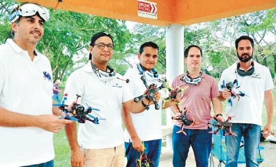 DRONES DE CARRERA Impulsan en RD nuevo deporte de velocidad