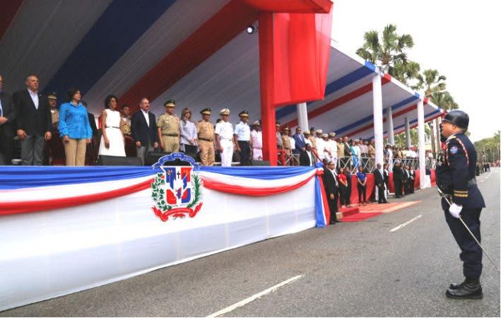 Con el desfile finalizan los actos conmemorativos del 173 aniversario de la Independencia Nacional/Foto: PresidenciaRD