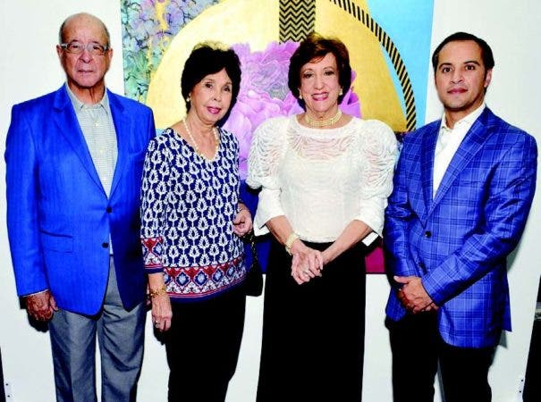 Freddy Reyes, Marcelle de Reyes, Milagros Guerra y Ludwig García