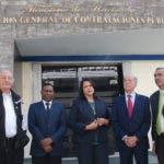 Minou Tavárez, Max Puig y otros de los partidos opositores  demandan que contrataciones públicas cancele el registro de proveedor de Odebrecht.  Hoy/ Aracelis Mena. 24/02/2017