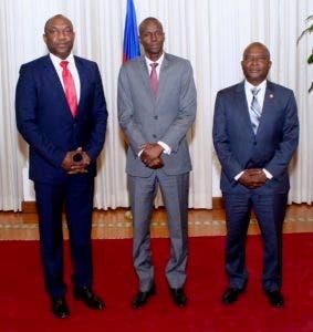 Foto publicada por el presidente de Haití, Jovenel Moïse, en su cuenta de twitter, en donde ofreció la información