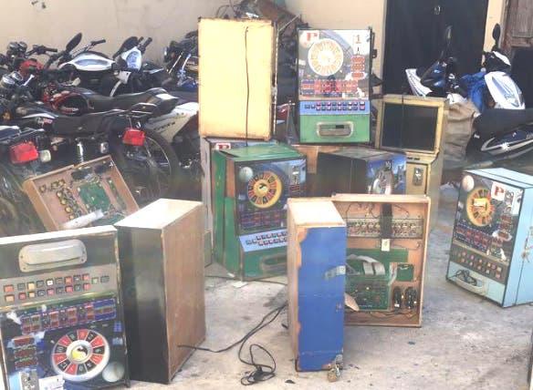 Autoridades confiscan 51 máquinas tragamonedas operaban de manera ilegal