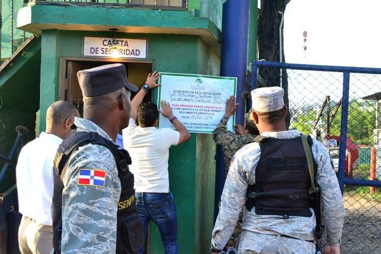 Cancelan permiso ambiental y cierran empresa de Metales Antillanos de Villa Mella