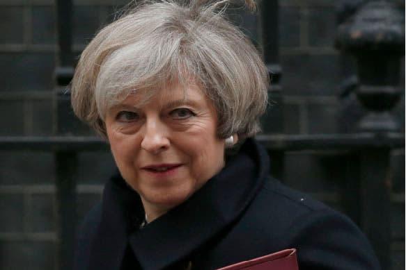 Theresa May/AP