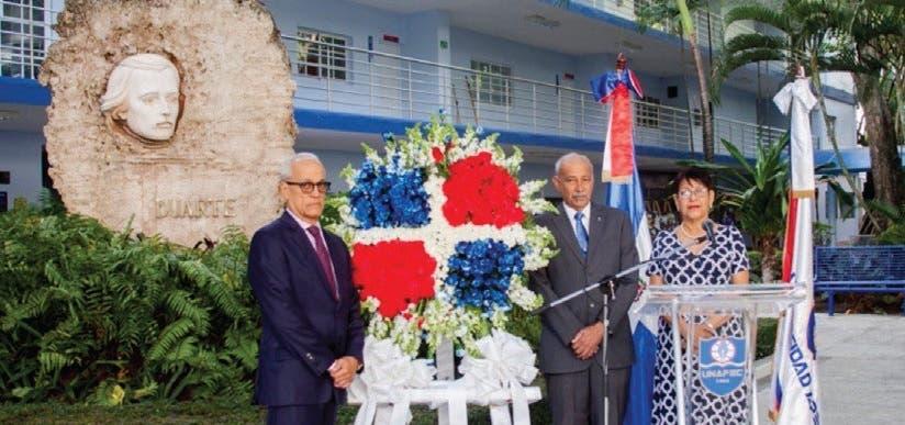 UNAPEC conmemora 204 aniversario natalicio Duarte