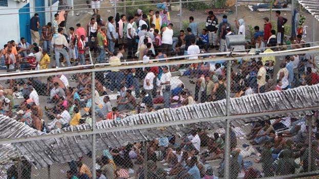 Es una jaula gigante sobre una colina del caluroso poblado de San Juan de Lagunillas. Fuente externa.
