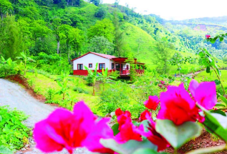 Turismo rural, encantado por las MONTAÑAS DE BONAO