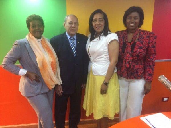 Patricia Arache, Fernando Sánchez Martínez, Mery Hernández y Rosa Alcántara.