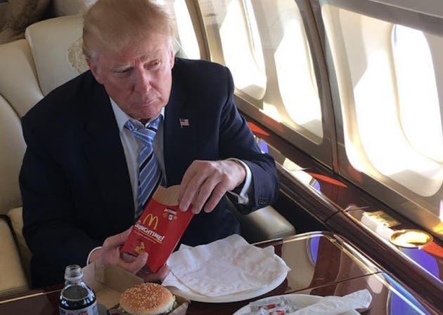McDonald's investiga tuit que envió a Trump