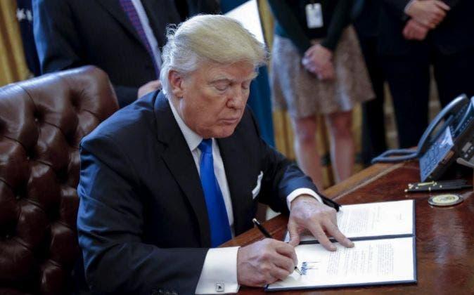 Trump autoriza la construcción del polémico oleoducto Keystone