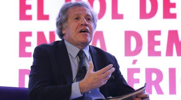 Almagro solicita sesión urgente en la OEA para aplicar la Carta a Venezuela