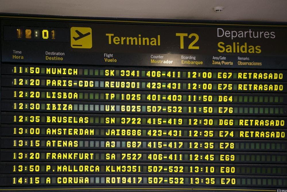 Cancelados 300 vuelos en Francia en la primera jornada de huelga de la semana
