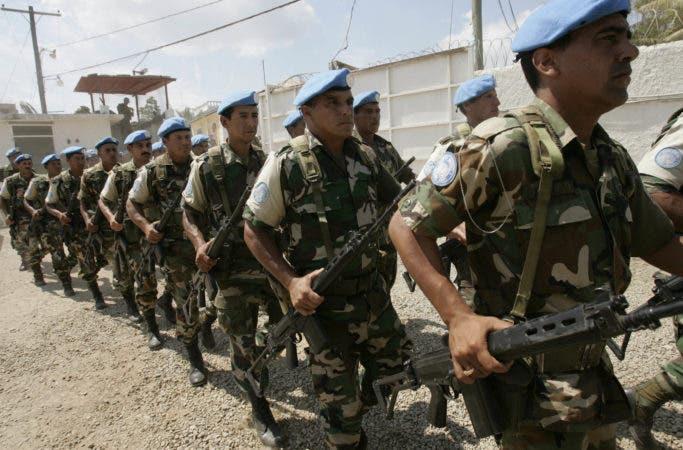 Unos 250 efectivos uruguayos se encuentran en ese país en estos momentos, aunque la dotación llegó a ser de un millar de hombres en años anteriores. AP.