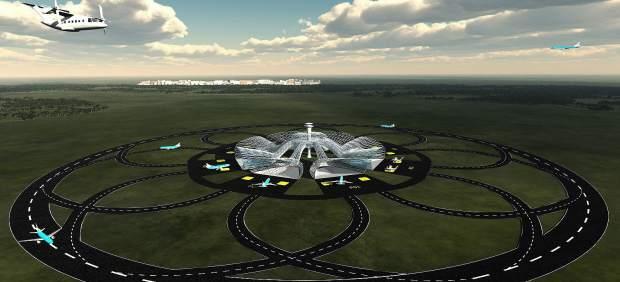 """Suena a película de ciencia ficción, pero el proyecto tiene nombres y apellidos. Se llama """"La pista sin fin"""" y está aún en fase de pruebas en simuladores virtuales.Fuente externa."""