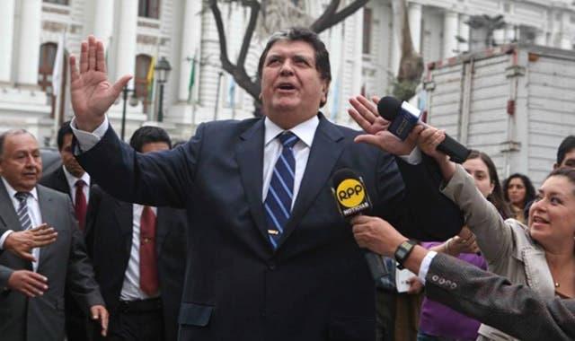 Expresidente peruano Alan García/Foto: Fuente externa.