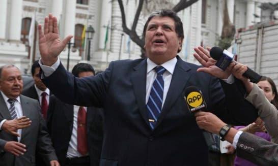 Expresidente Alan García denunciará a los que lo han involucrado en caso Odebrecht