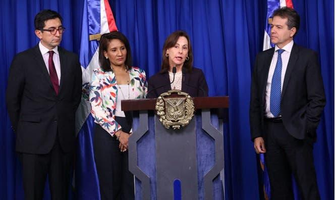 La presidencia de la República recibió hoy la visita de una misión de ejecutivos y expertos de alto nivel del BID/Foto: Cortesía de la Presidencia.