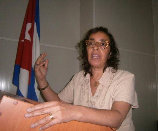 La doctora Dévora Késtel, jefa de la Unidad de Salud Mental y Abuso de Sustancias de la OPS/OMS. Fuente externa.