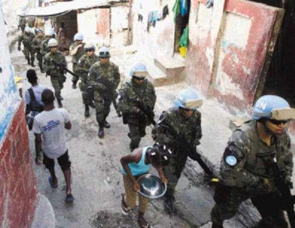 La Minustah se puso en marcha en 2004 con el fin de apoyar la estabilización de Haití .
