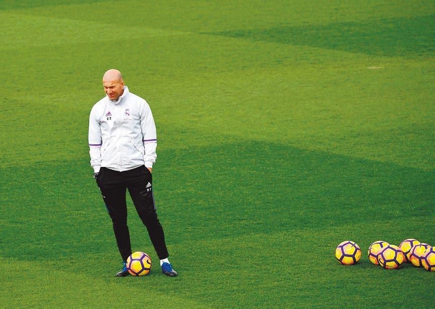 Zinedine Zidane .