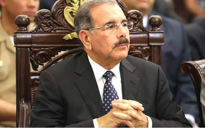 Presidente de la República, Danilo Medina.