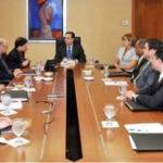 Directorio del FMI y el Gobernador del Banco Central de la República Dominicana/Foto de archivo. Fuente externa.