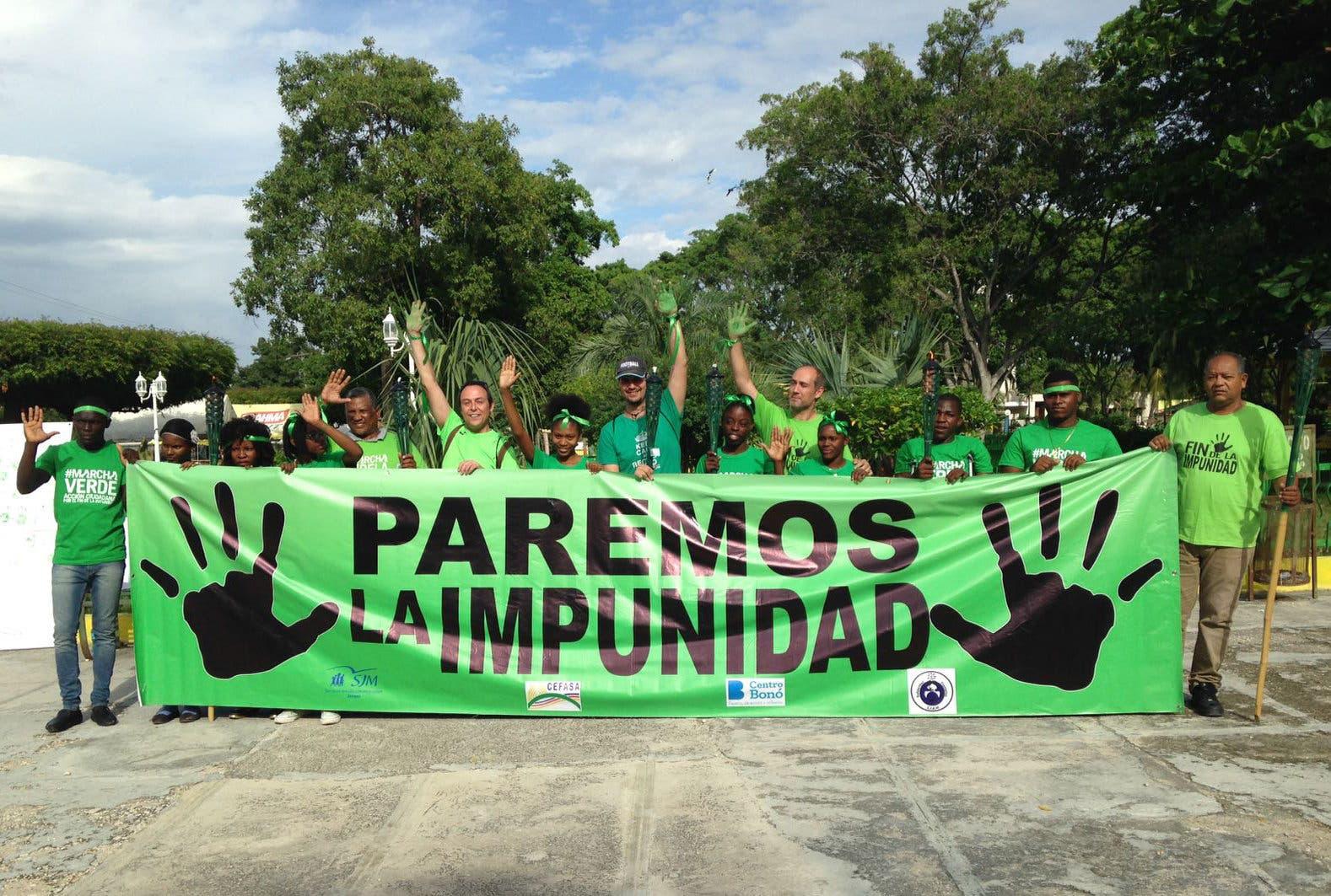 DOMINICANOS INICIAN MOVILIZACIÓN EN CONTRA DE CORRUPCIÓN TRAS CASO ODEBRECHT