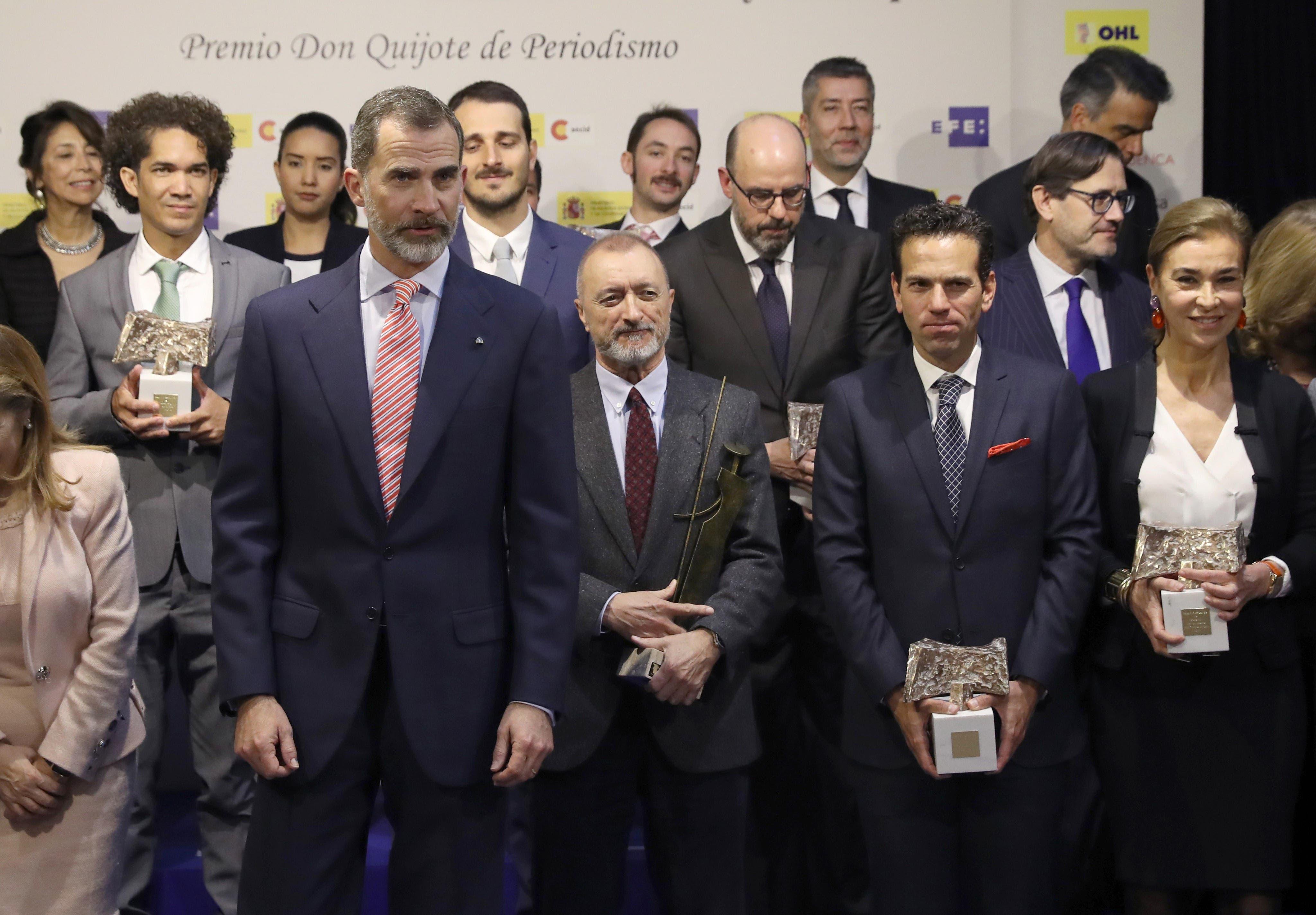 Felipe VI entrega Premios Rey de España a comunicadores iberoamericanos