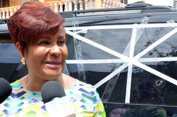 La diputada Josefa Castillo.