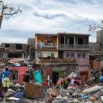 Destrucción dejada por Matthew a su paso por Haití/Foto: Fuente externa.