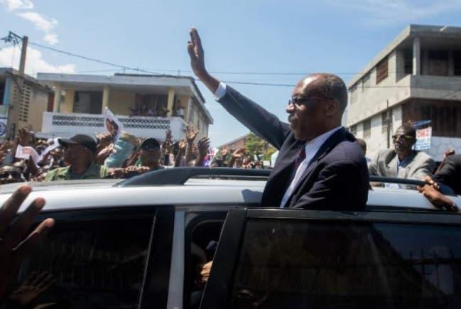 El vehículo de Jean-Bertrand Aristide fue atacado con disparos la tarde de hoy/Foto: Fuente externa.