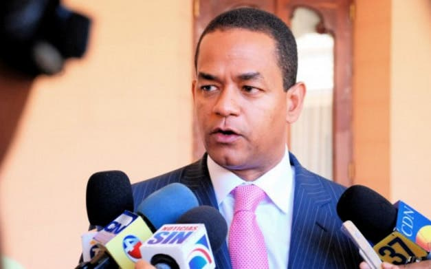 El senador Julio César Valentín acudió a la Procuraduría en calidad de ex presidente de la Cámara de Diputados/Foto: Archivo.