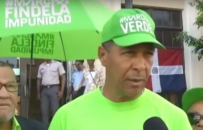 Juan Bautista Nin, del Movimiento Verde. Fuente externa.