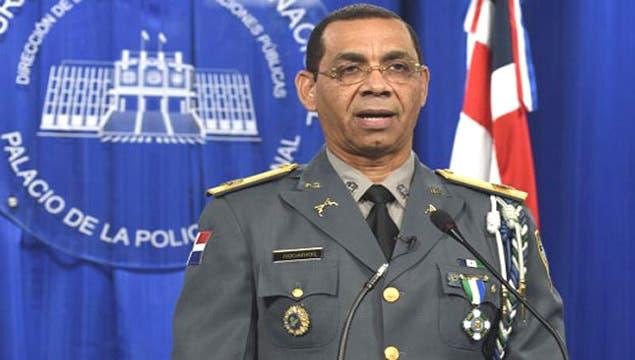 Vocero de la Policía Nacional, general Nelson Rosario.