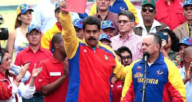 Nicolás Maduro y Diosdado