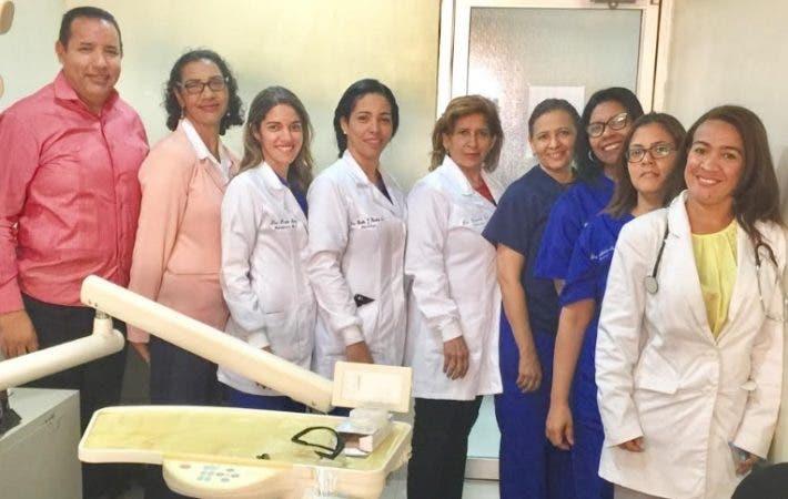 Odontólogos del Hospital Municipal Mata Hambre/Foto: Fuente externa.