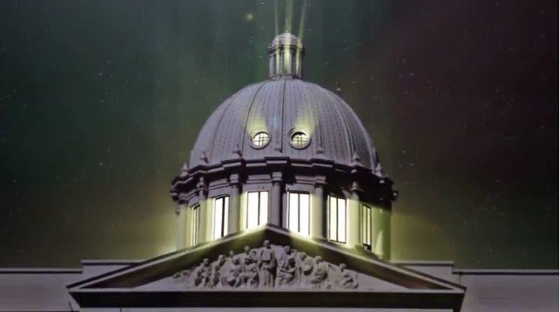 El Palacio Nacional apagará sus luces a partir de las 8:30 de la noche de este sábado.