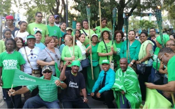 El colectivo reiteró su invitación a los residentes del Gran Santo Domingo a asistir al acto/Foto cortesía de Marcha Verde.