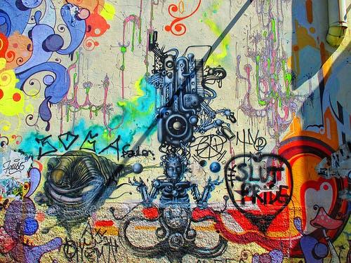 Grafitis Sao Paulo, el alcalde Joao Doria quiere quitar éstas artes del pais/Foto: fuente externa.