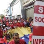 Oficialismo en Caracas marcha en contra de la OEA/Foto: fuente externa.