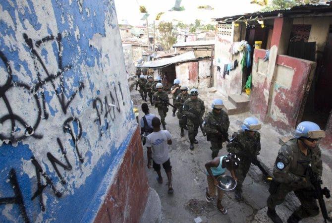 La salida de las tropas del país no significa el final de la Misión de Estabilización de Naciones Unidas en Haití.