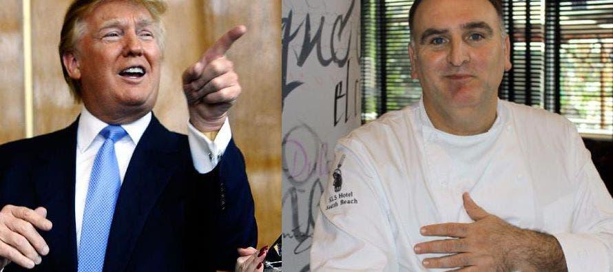 Trump y el chef español José Andrés llegan a un acuerdo en su largo litigio