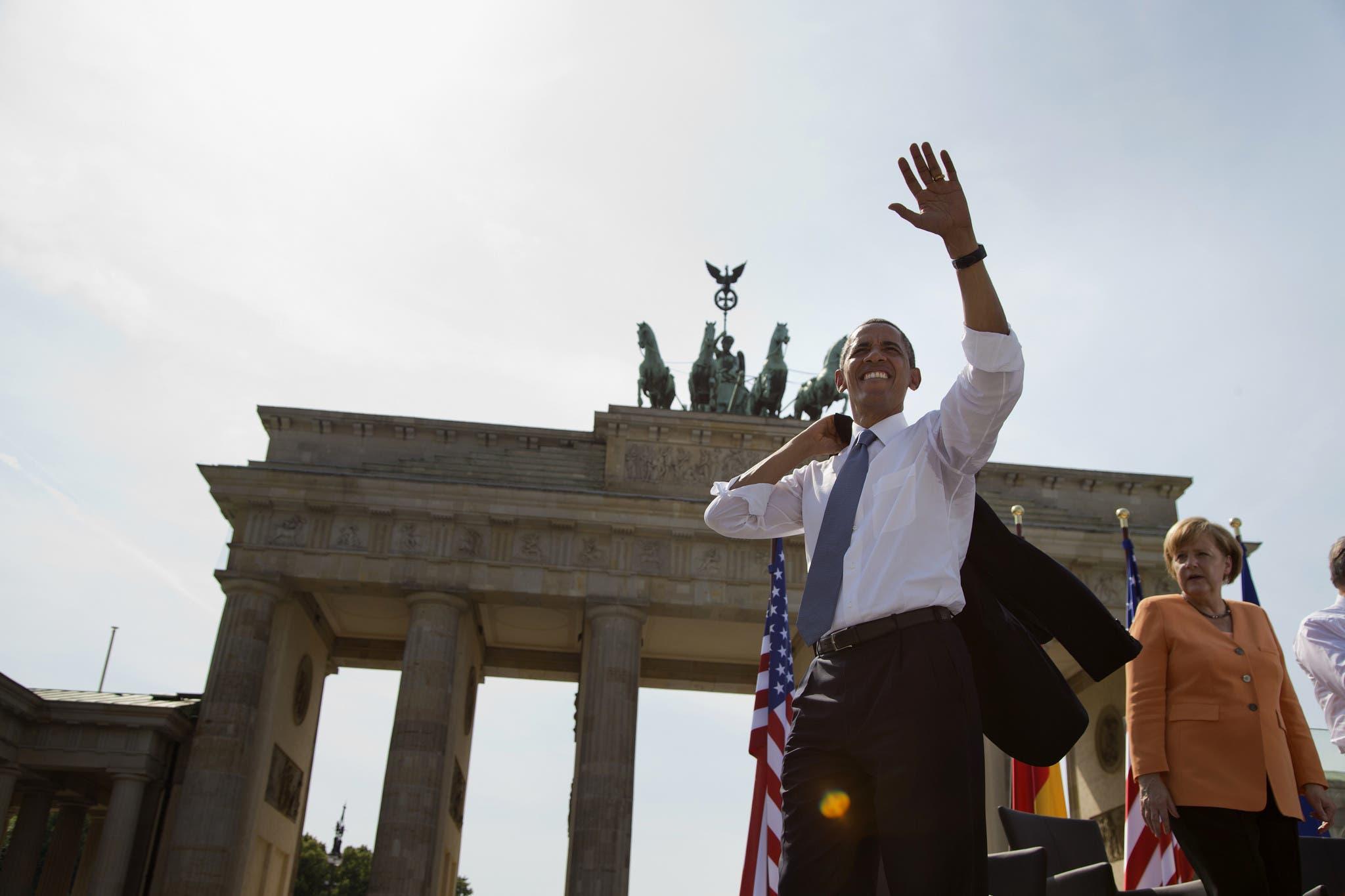 Obama estará en conferencia protestante en Berlín